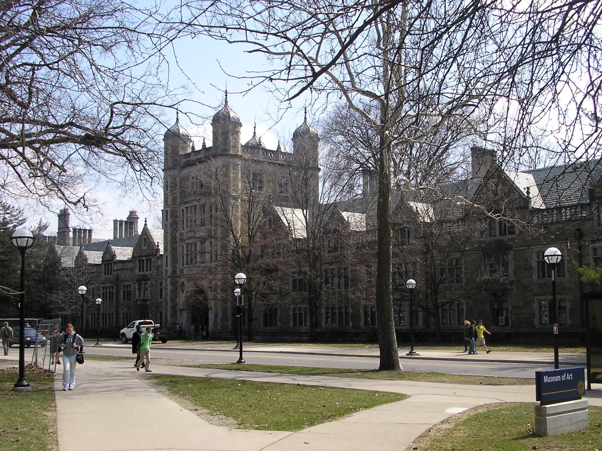 University of Michigan campus in Ann Arbor, Michigan