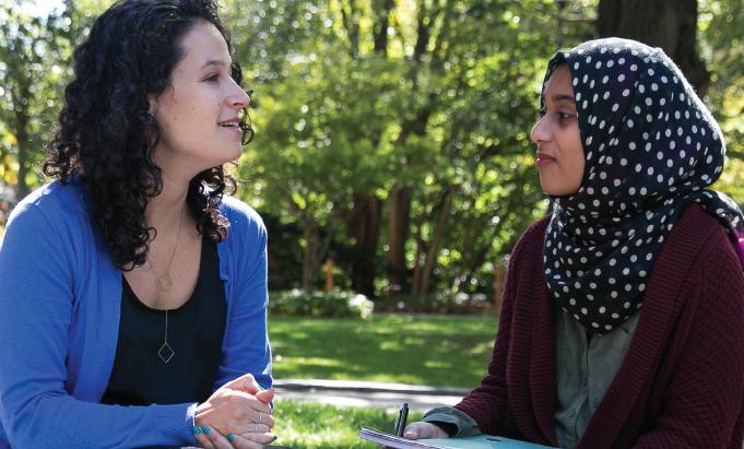 Mentoring program boosts college enrollment