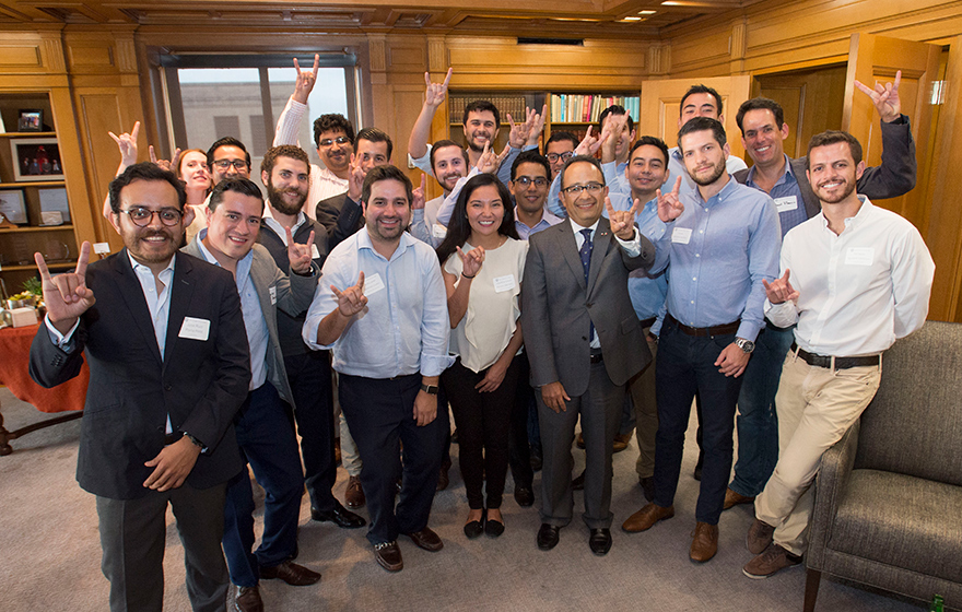 CONACYT Students in The University of Texas Mexico Institute