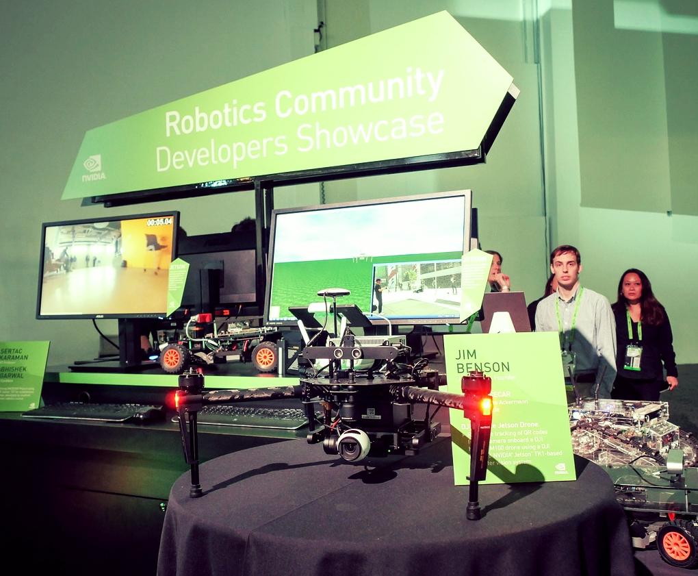 Nvidia Deep Learning Robotics project