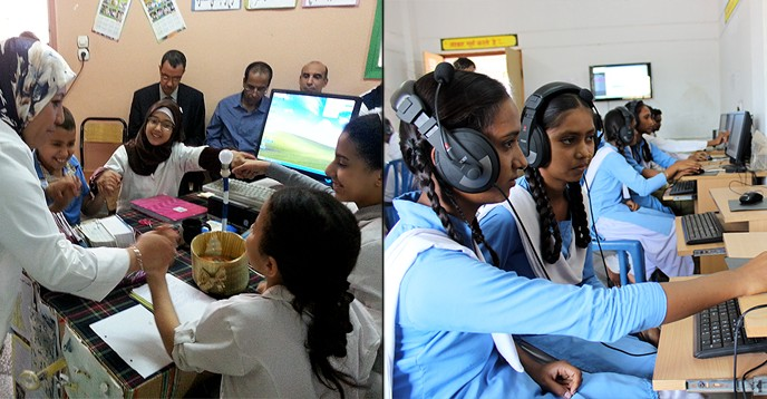 In this edition, the UNESCO King Hamad Bin Isa Al-Khalifa Prize for Innovation in Education is awarded to the use of information and communication technologies (ICT) to increase access to quality education. - Photo: UNESCO / The GENIE Program & The CLIX Program.