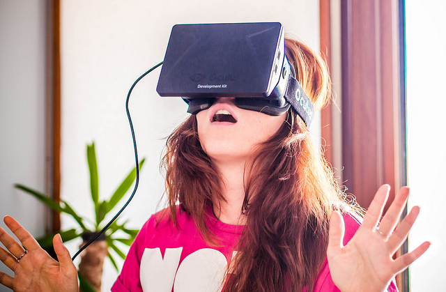 It is estimated that virtual reality will have a significant impact on children as VR provokes similar responses to real experiences; it can be beneficial or harmful depending on the content. - Photo: Flickr