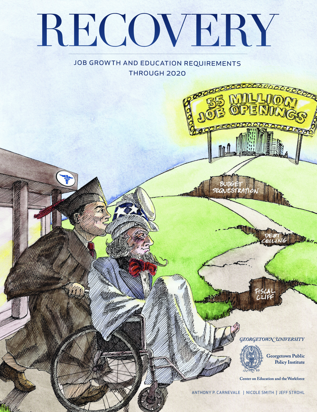 Recovery: Projections of Jobs and Education Requirements Through 2020