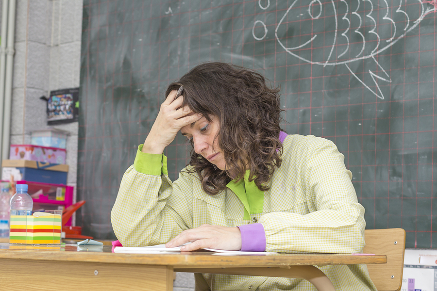 Study reveals that teacher inefficacy and burnout is the result of excessive demands, insufficient resources and lack of training. - Photo: bigstock.com