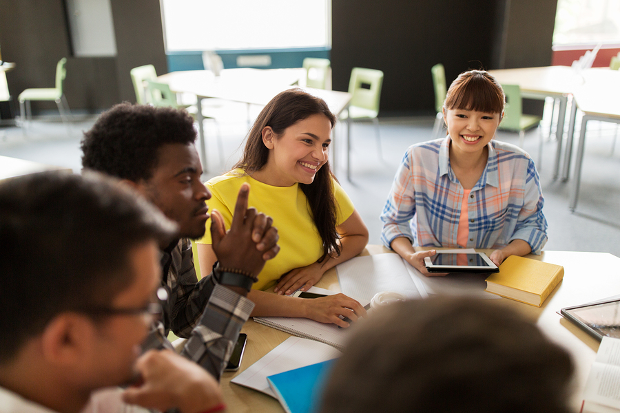 Experts state that as higher education moves away from traditional conference-based lessons, that access to technology is guaranteed and that active learning programs are developed, classrooms will respond more to the needs of real-world work. - Image: Bigstock