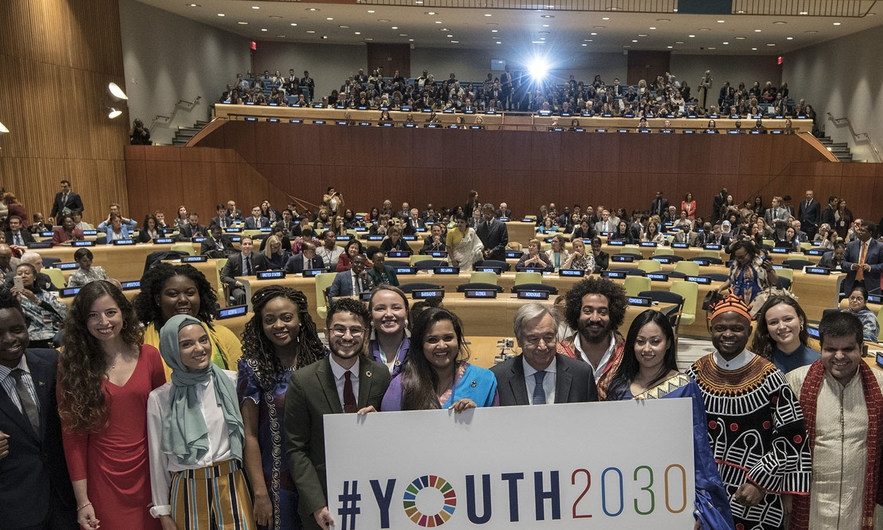 Youth 2030 initiative aims to empower youth to face challenges such as lack of employment, lack of education, violence and armed conflicts, climate change, in addition to the transformation of the labor market. - Image: UN