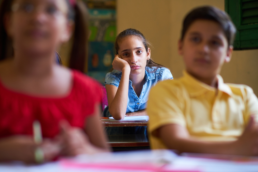 To help the students be on their best behavior, we need to stop relying so much on punishment and find better ways to guide them. - Photo: Bigstock.