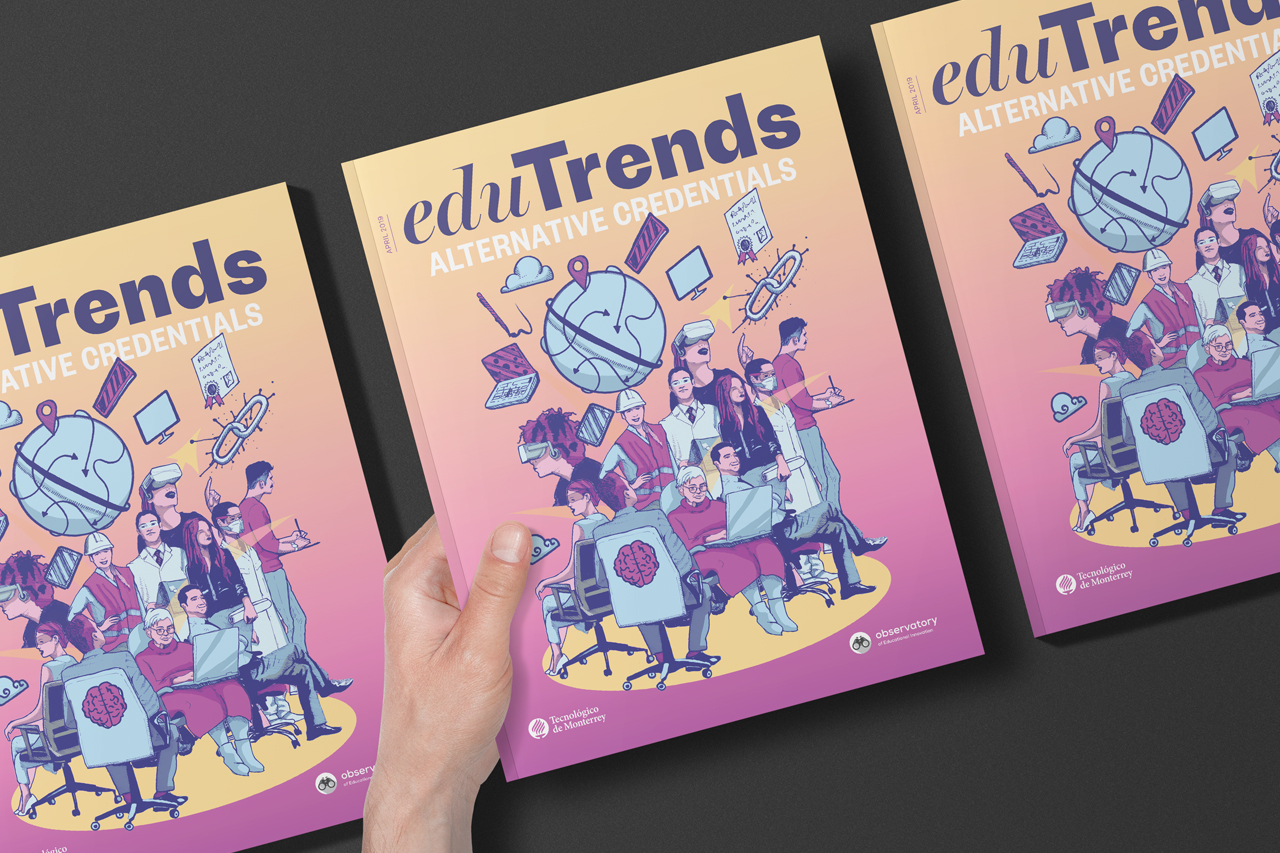 Edu Trends | Alternative Credentials - Download our free report on the growing world of alternative credentials and the initiatives that are shaping its future.