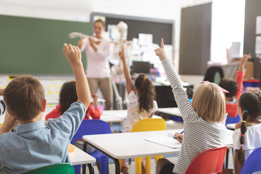 A lot of teachers think that overpopulated classrooms hurt the chances for students to learn. - Photo: Bigstock.