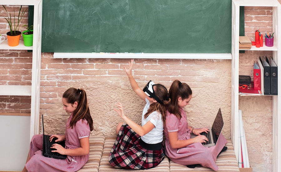 Tech influence in classrooms will demand greater support and engagement from parents and teachers. - Image: Bigstock.