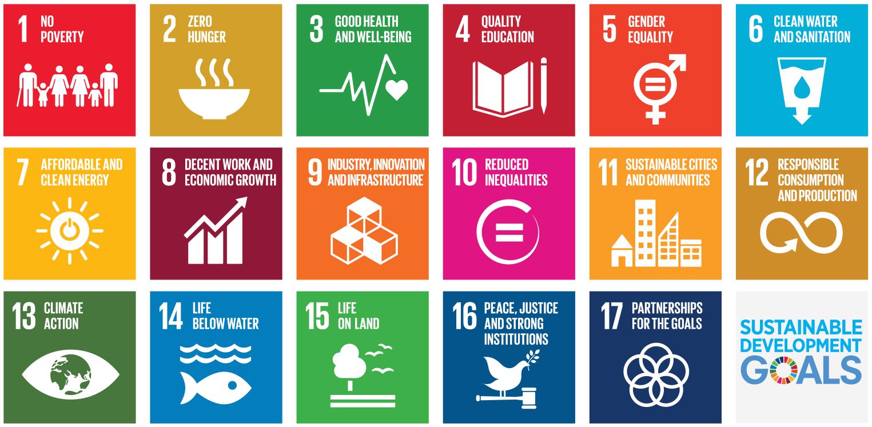 Figure 1:  Sustainable Development Goals (SDGs) in Agenda 2030 .