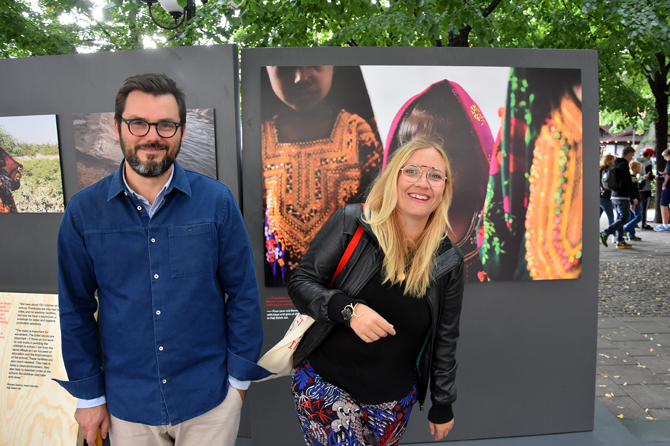 The design duo Jenny Theolin & Dan Bull