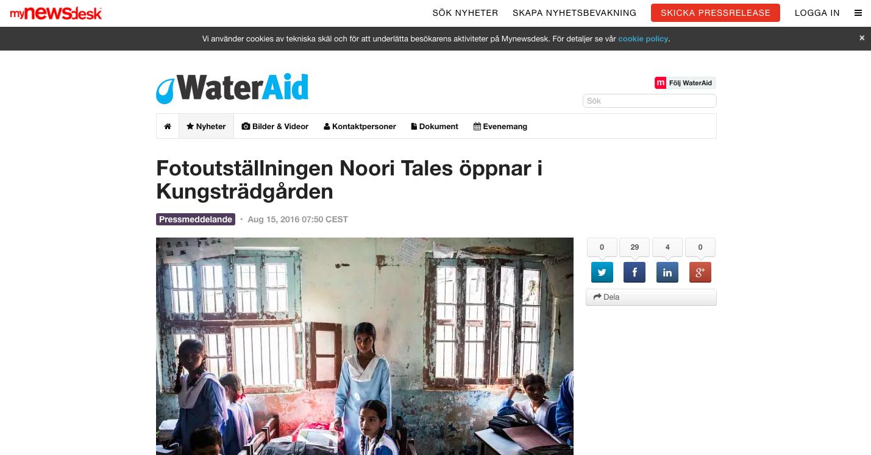 MyNewsDesk press release:   http://www.mynewsdesk.com/se/wateraidsverige/pressreleases/fotoutstaellningen-noori-tales-oeppnar-i-kungstraedgaarden-1519068