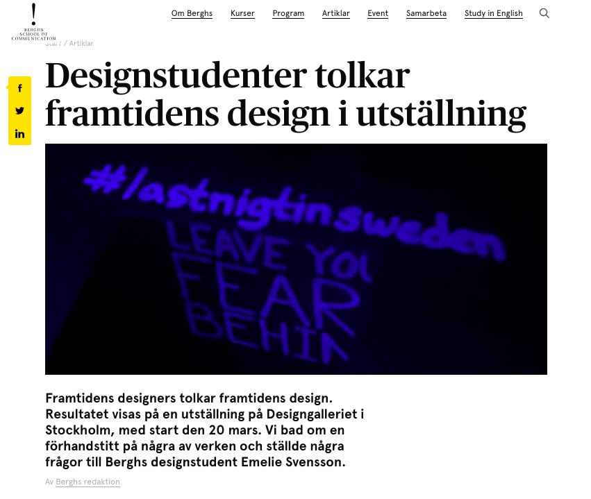 https://www.berghs.se/artiklar/designstudenter-tolkar-framtidens-design-utstallning/