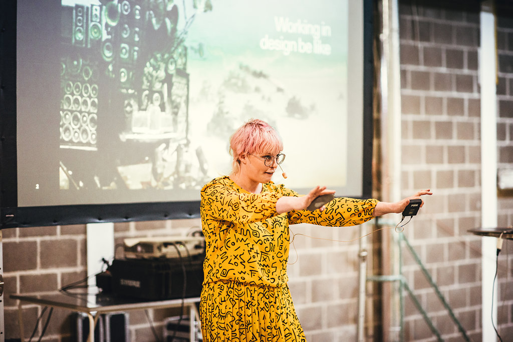 """Unn Swanström UX Designer, Doberman   Unn is an appreciated speaker and organiser of the meetup """"Designers i Stockholm"""". She likes human-friendly tech and loves horses. She was nominated IT Woman of the Year in 2015 and thinks technology should work for people, not the other way around."""