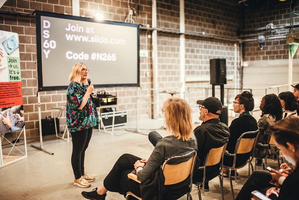 Jenny Theolin Vice Chairman of Design Sweden Moderator / Host