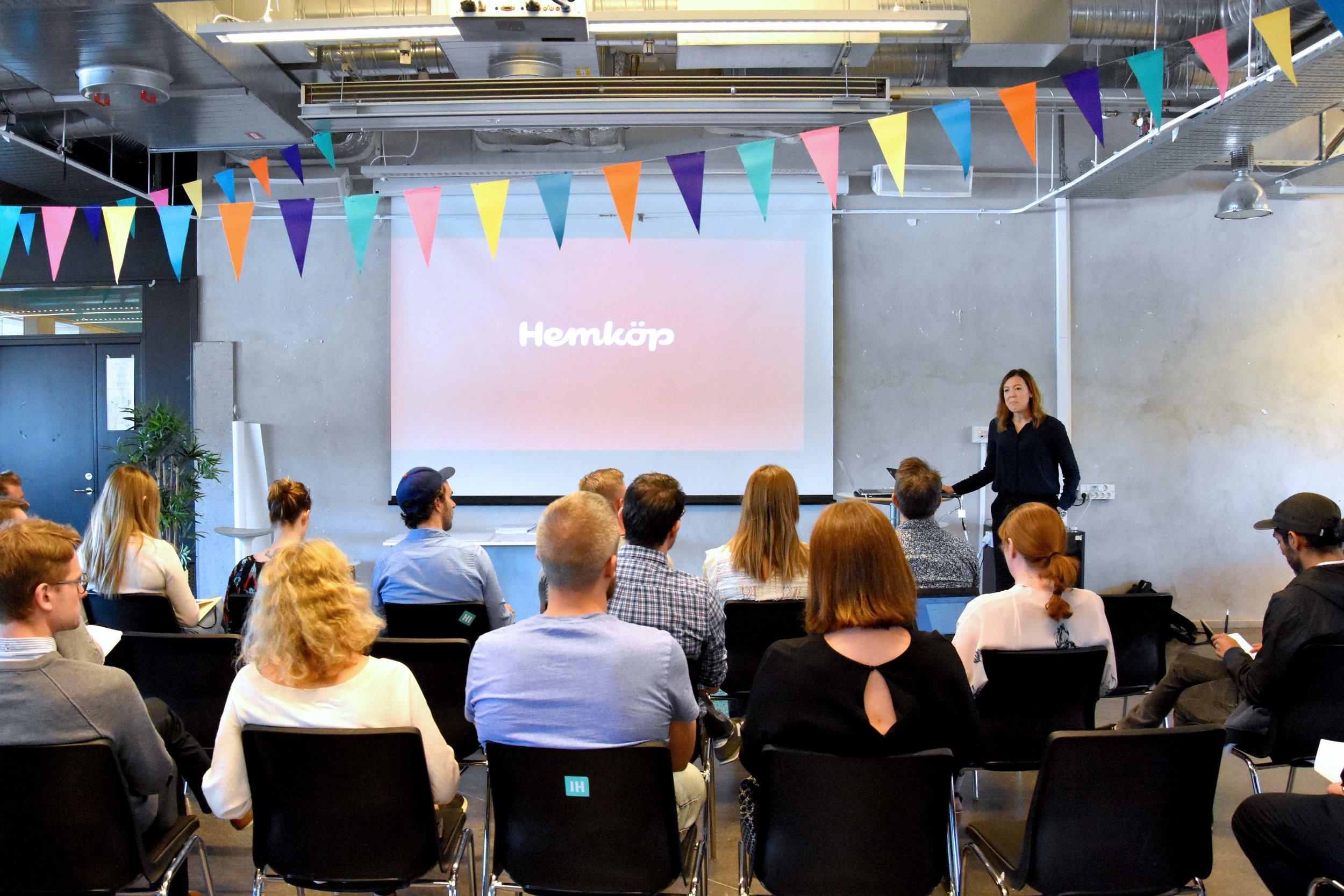 Anna Åkesson,Head of E-commerce at Hemköp -