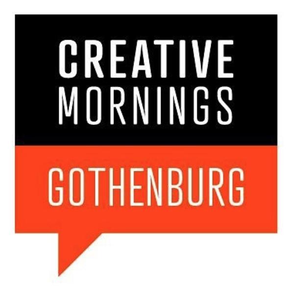 SPEAKING EVENT  Creative Mornings Gothenburg June 2018 TBA