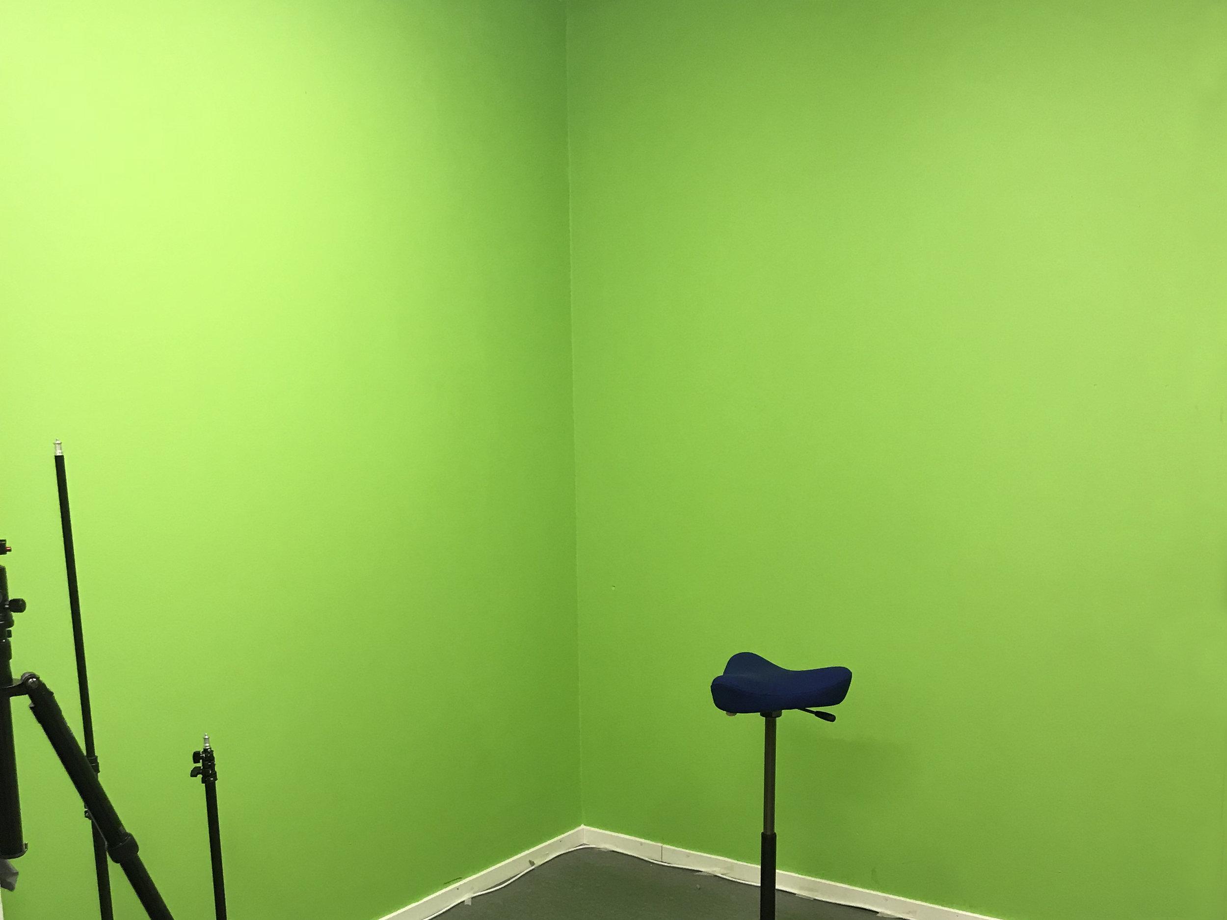 Green Screen Room 1