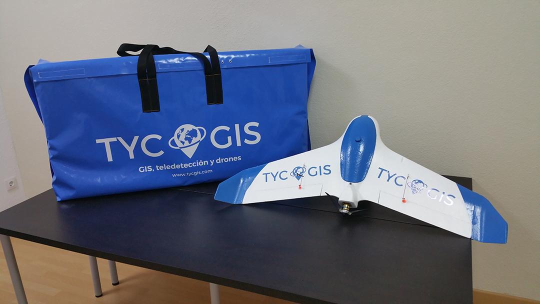 Diseño 3D de Drone TG5