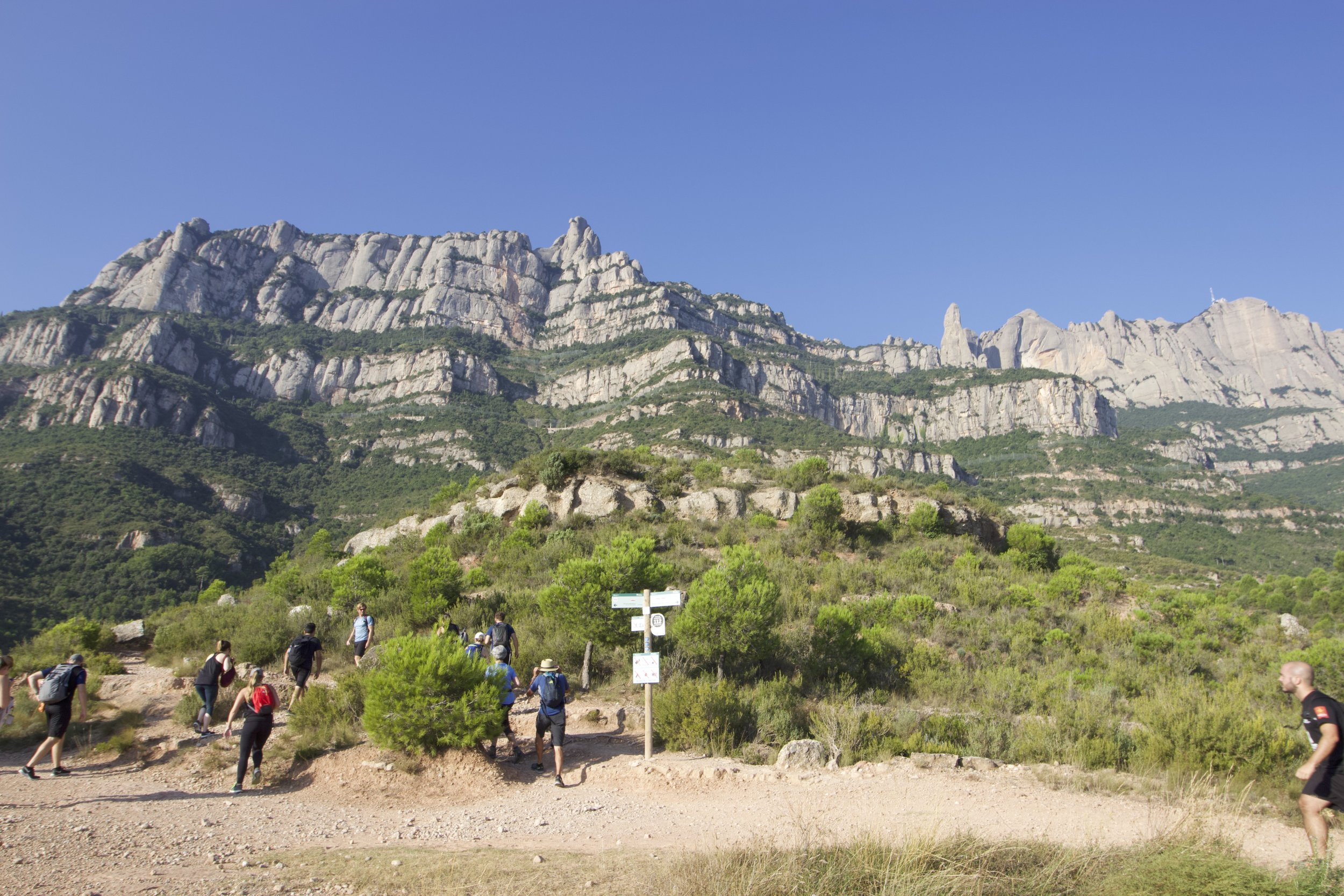 Walking & Hiking Montserrat Mountain