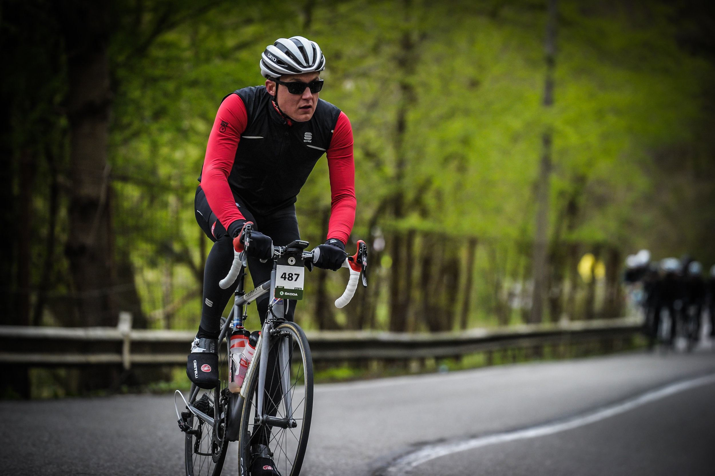 Riding the 273km Liege-Bastogne-Liege in April 2017