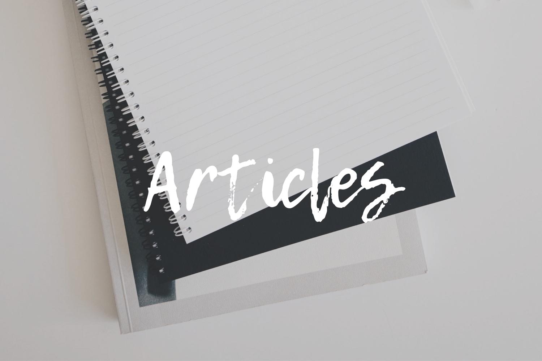 A stack of notebooks: Marketing and branding tips for Christian entrepreneurs