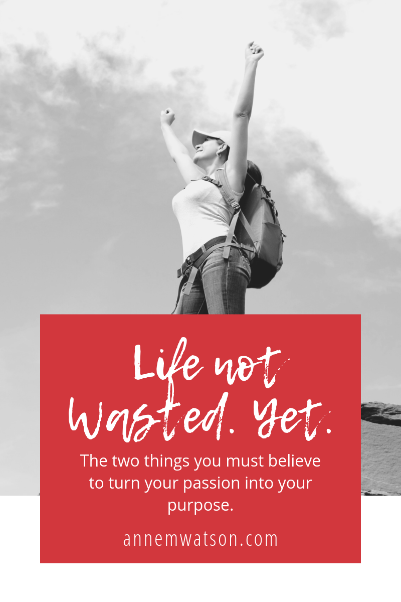 Life Not Wasted. Yet.