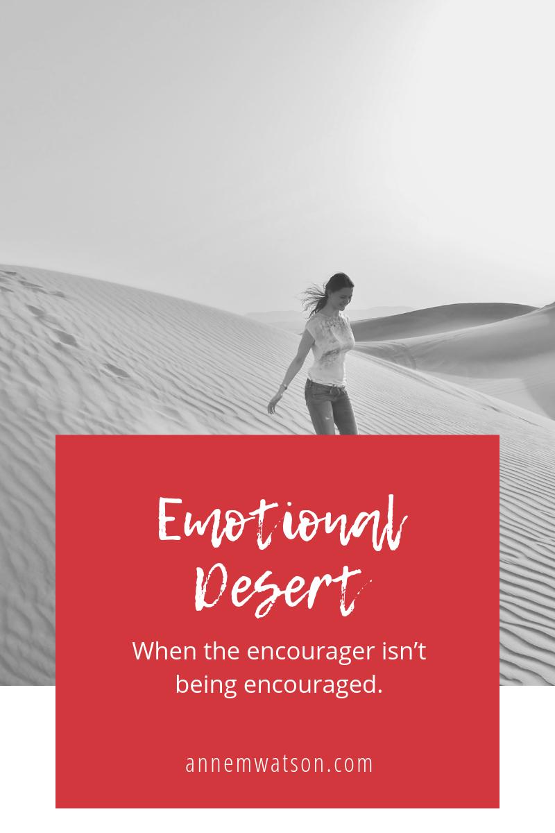 Girl walking in the desert image
