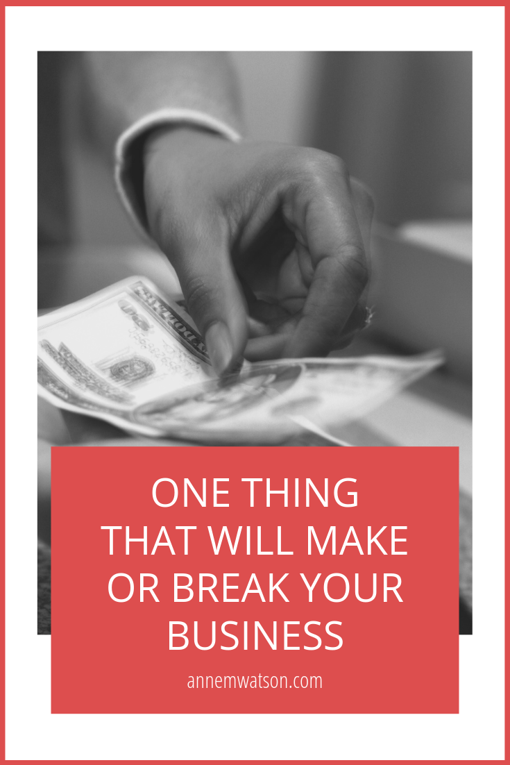 One thing that will make or break your business image of bank teller