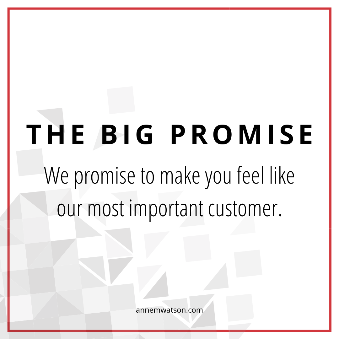 The Big Promise Graphic