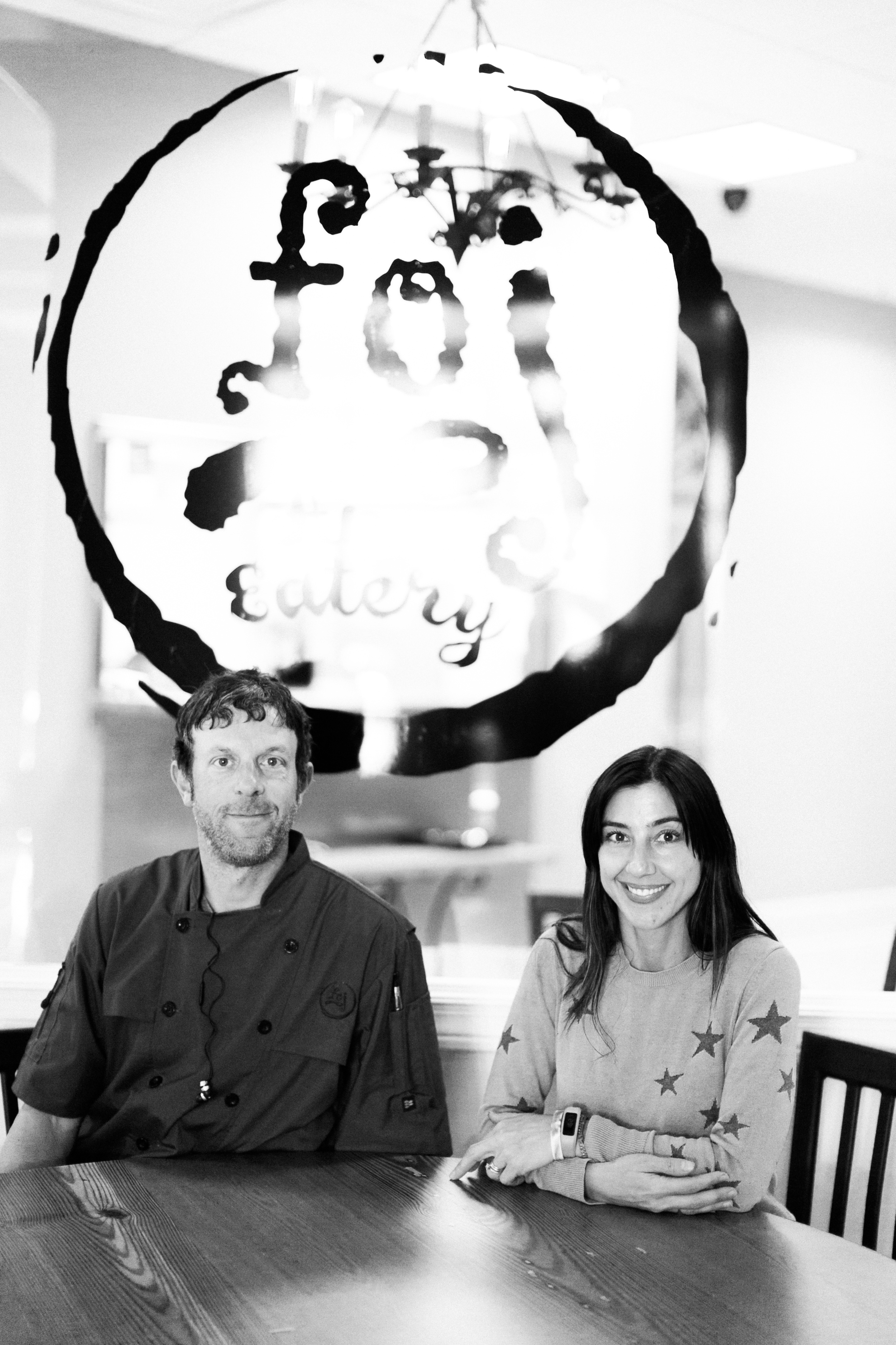 Photo: Owner Natasha Phillips and husband Carl //  All images (c) of Haley Sheffield.