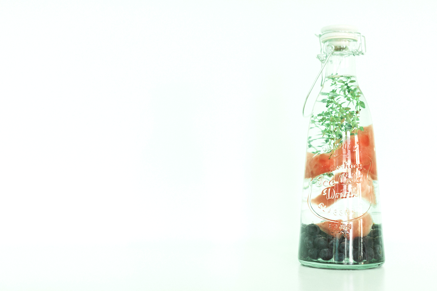 Infused Water Recipe on In Fine Feather Blog