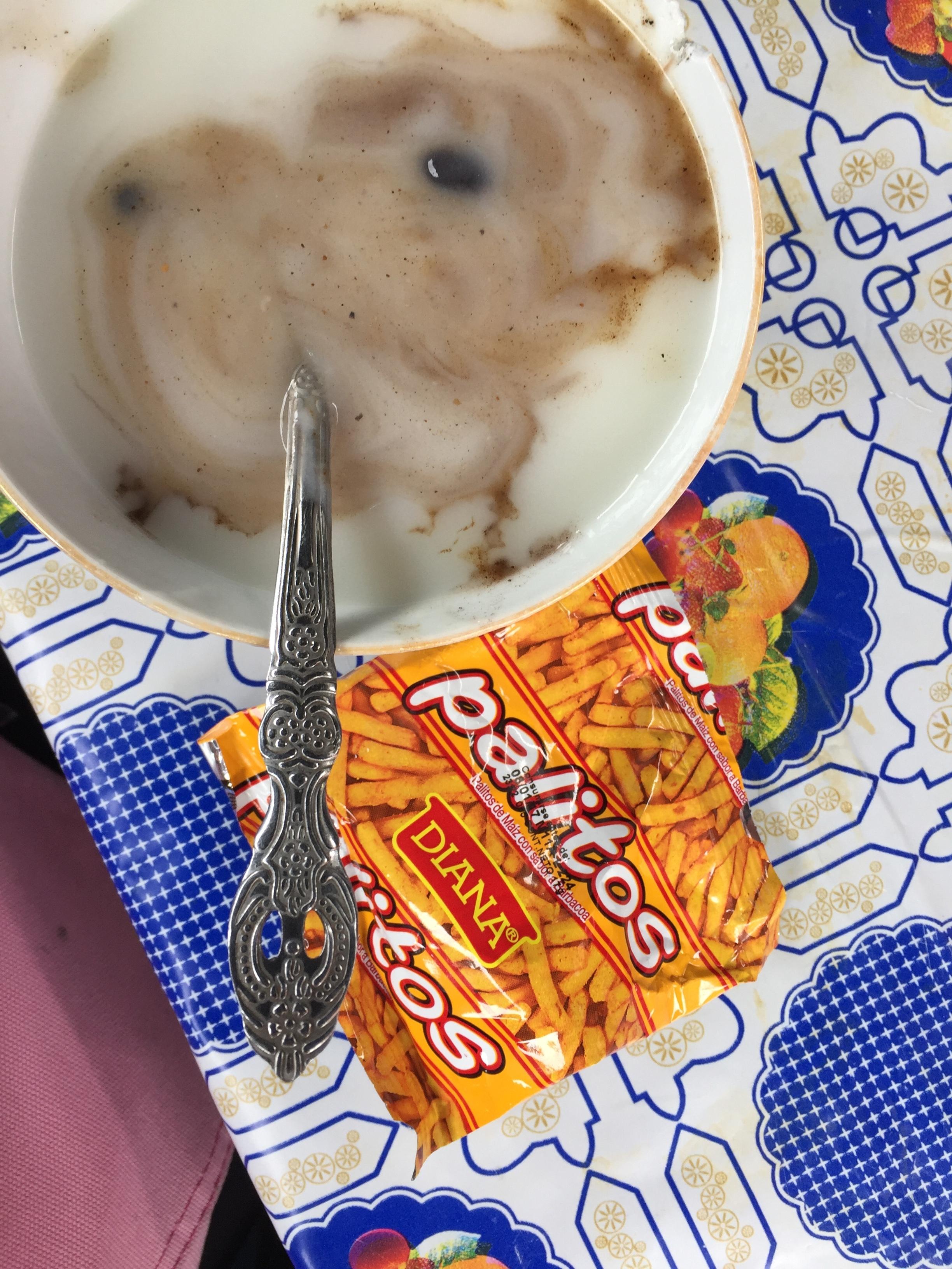Atol porridge with palitos