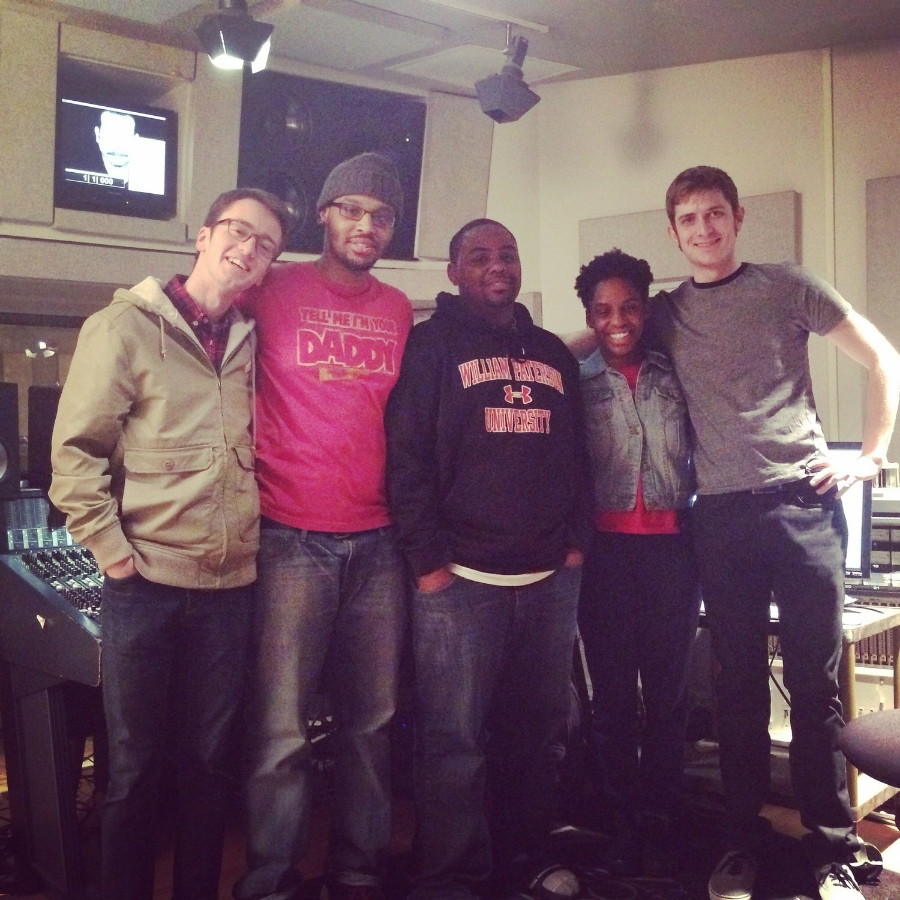 The Ally Mac Project! Eric Zolan (Guitar), Errold Lanier Jr. (Drums), Kendall Haskins (Bass), ME (Vocals) and Will Dougherty (Keys)