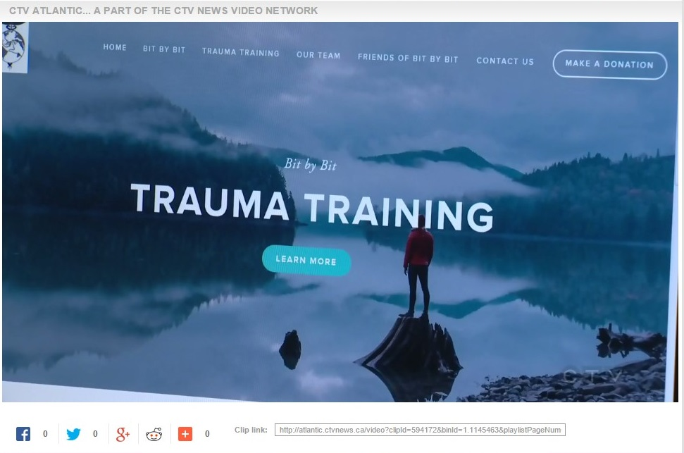Click here to watch CTV Atlantic's Mental Health Minute featuring TASC, the Trauma Training Program of Bit by Bit Trauma Training.