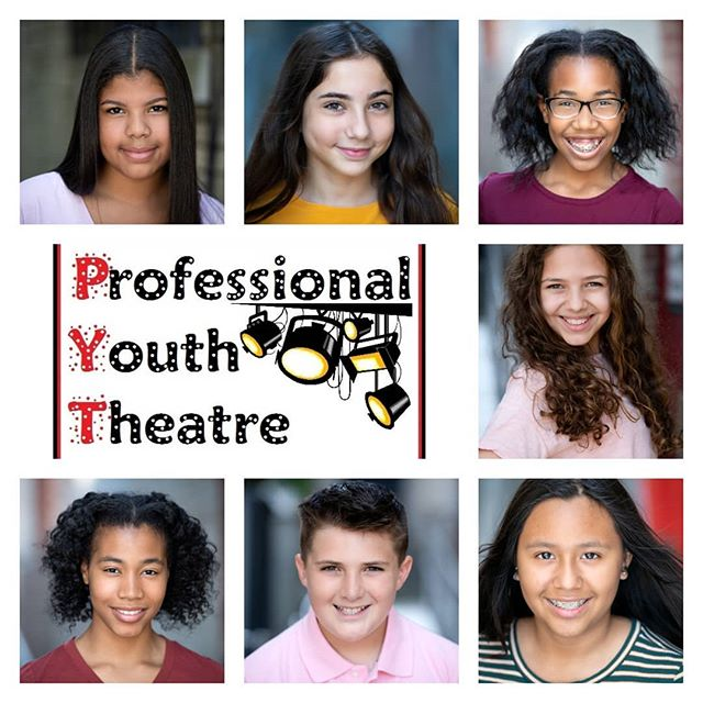 Beautiful headshots for our talented students!  Thank you, @ricsechrest, for bringing our students yet another professional component of the theater world.  #PYTtheplacetobe #onlythebest
