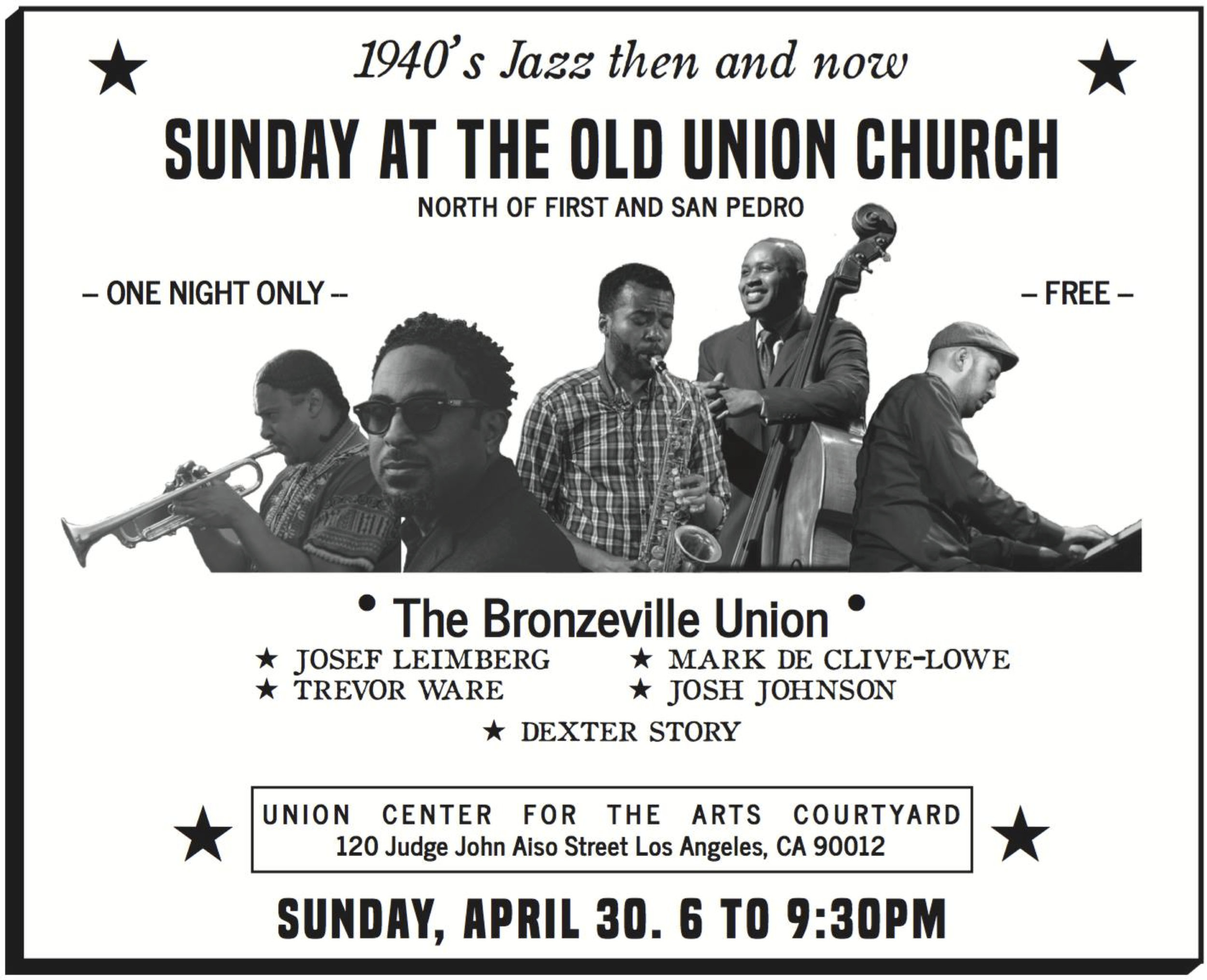 40's inspired ad for 'The Bronzeville Union' by Rani De Leon & Maya Santos