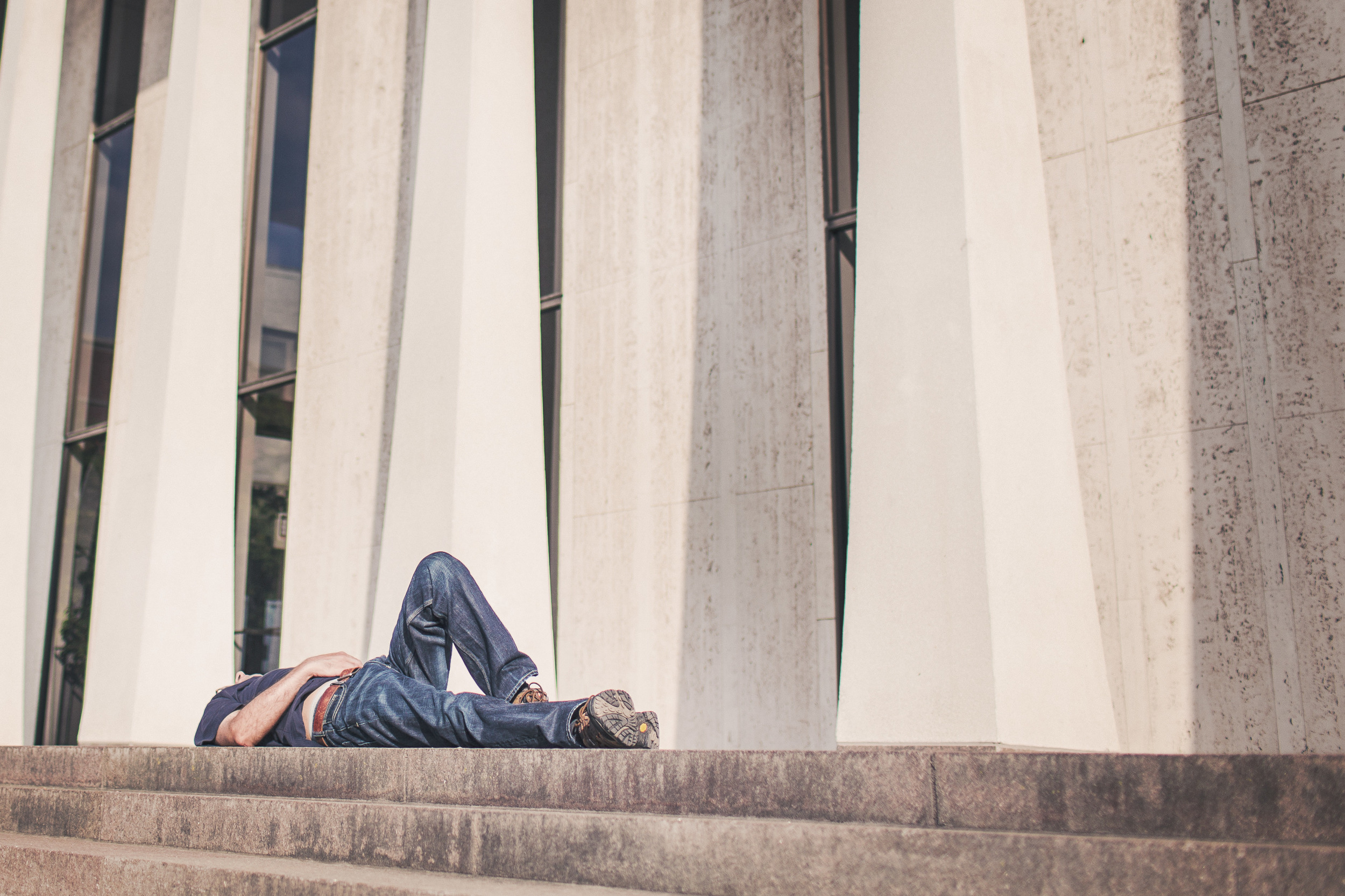 Get enough sleep so you don't wake up on the side of the street.