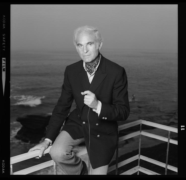 Bern Schwartz, Self-Portrait , La Jolla, CA, 1975