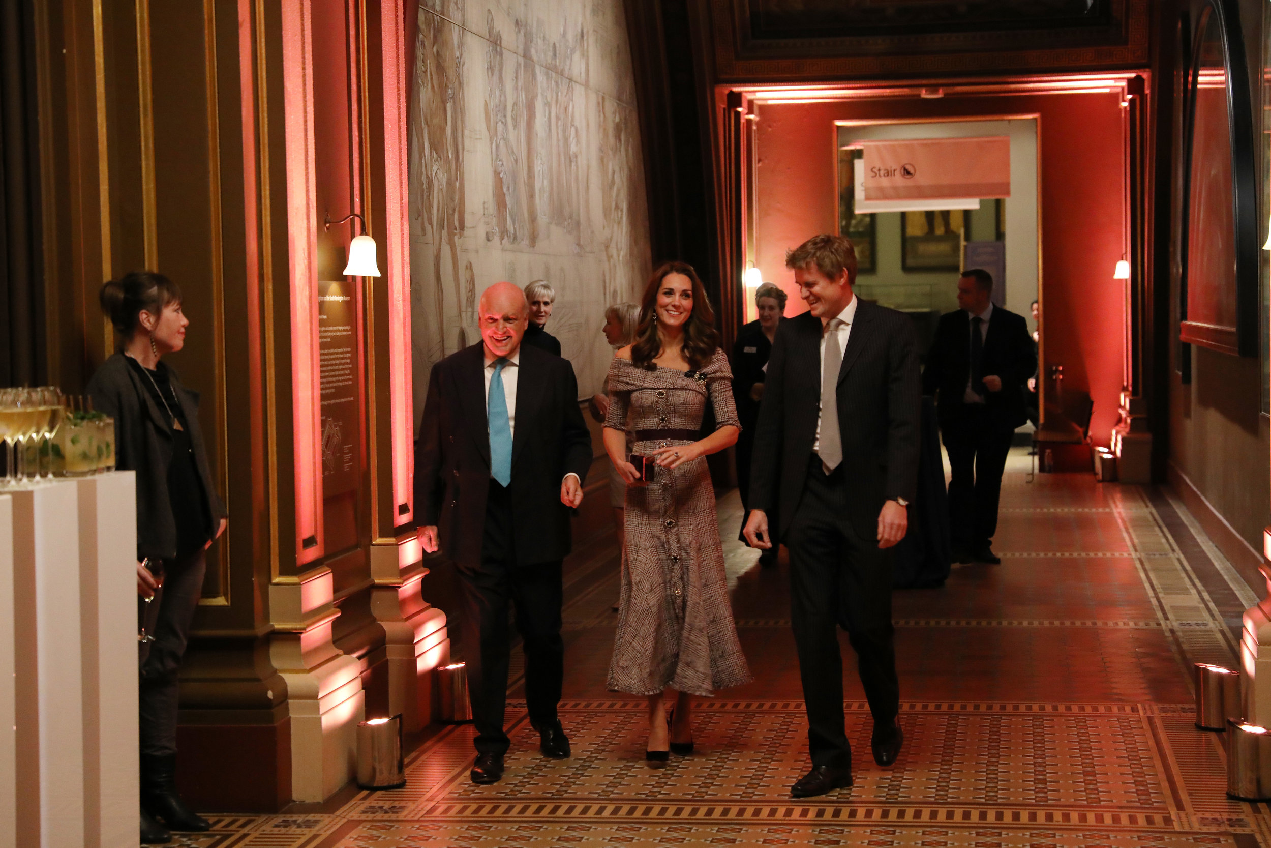 DUCHESS OF CAMBRIDGE AT THE V&A000.jpg