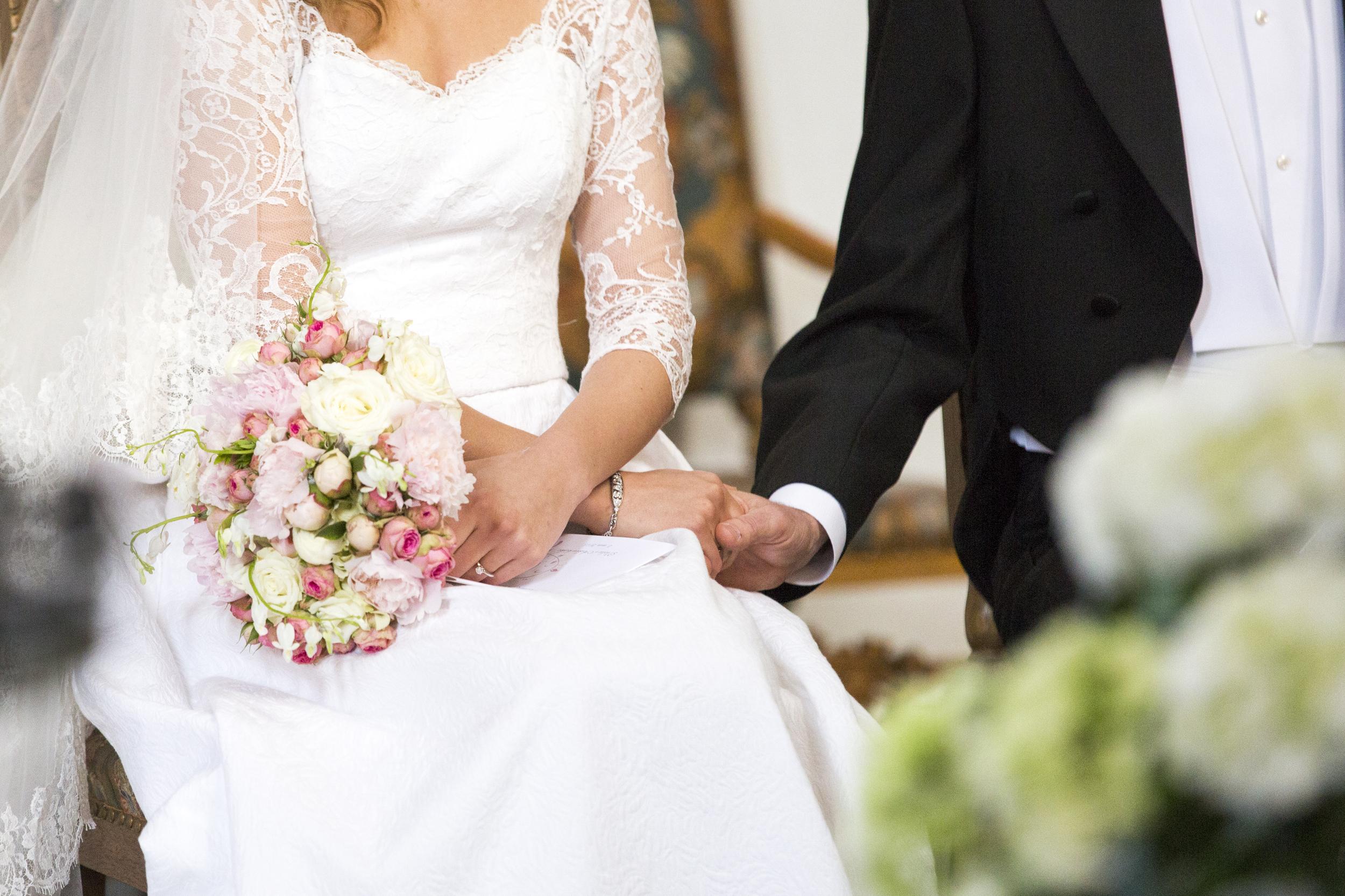 Bryllupsbilde - tatt av fotograf Karina Rønning