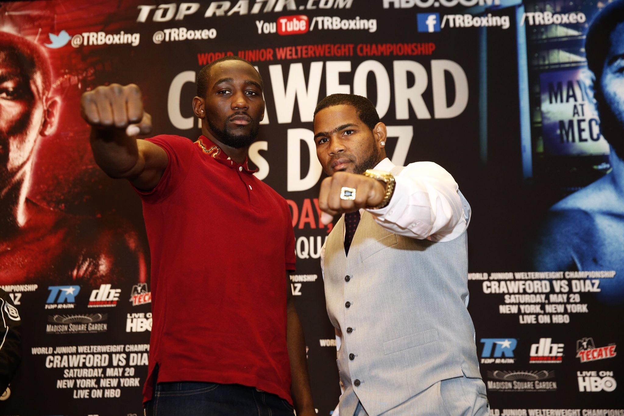 Crawford vs Diaz (Top Rank/Mikey Williams)