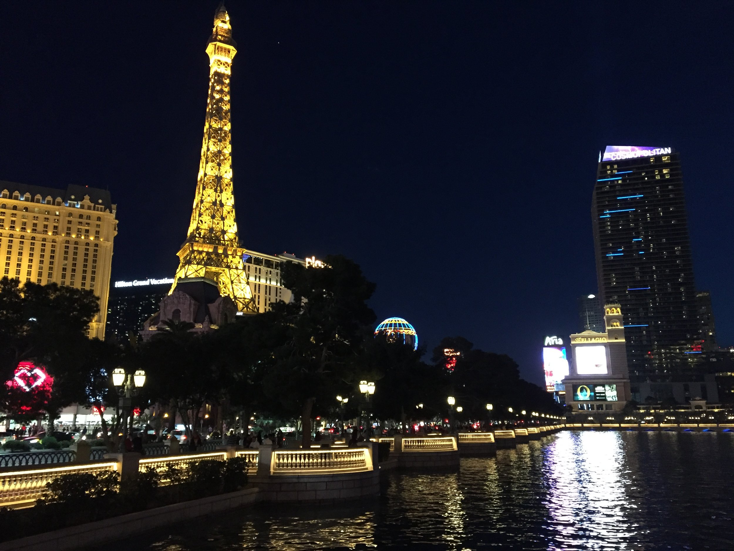 The streets of Paris ... er, Vegas.