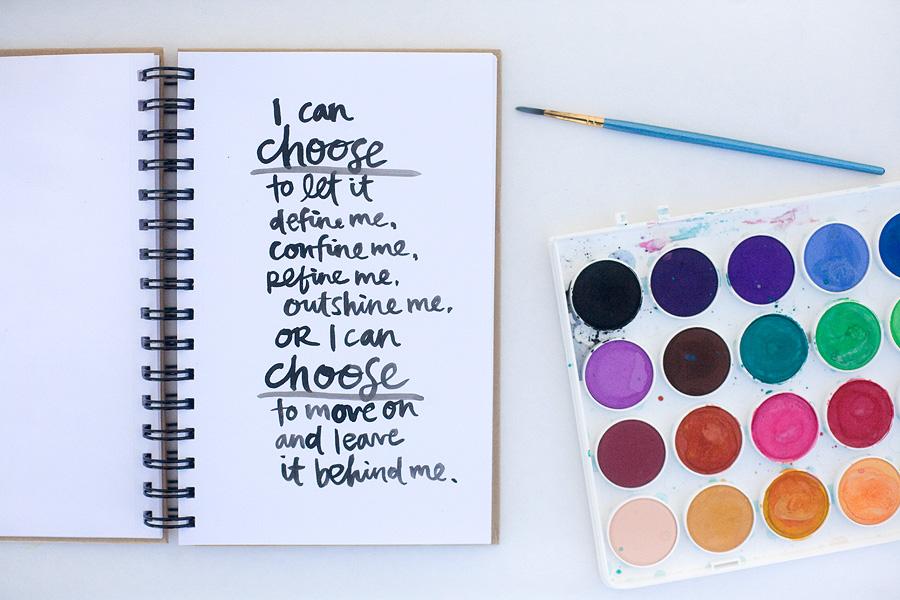 I can choose