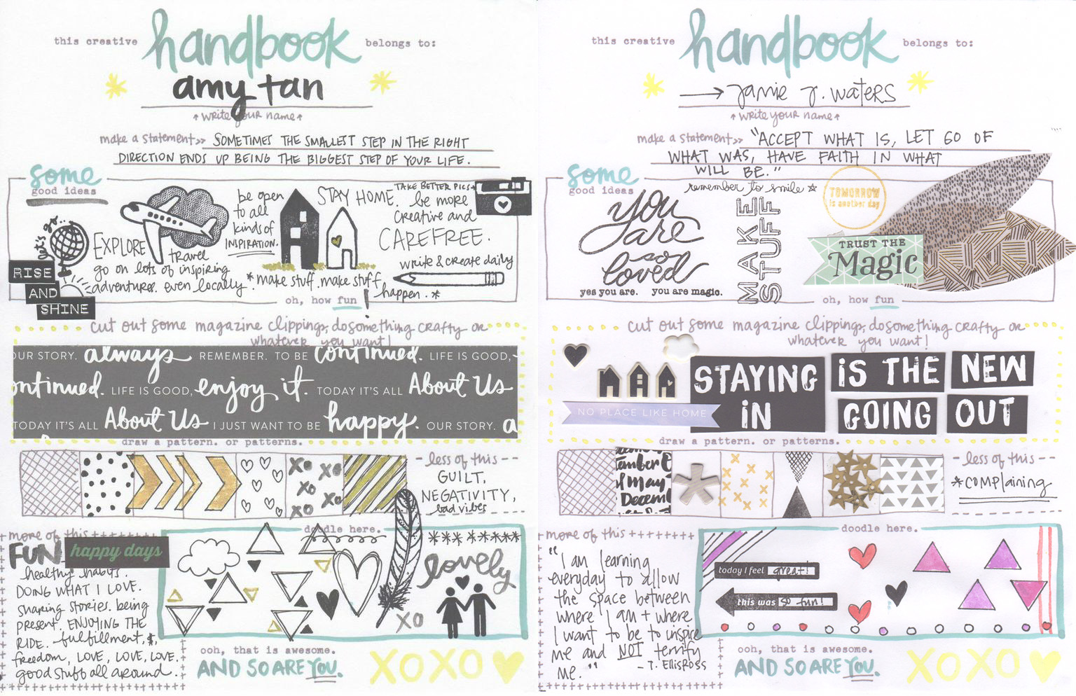 Amy Tangerine Creative Handbook - free download