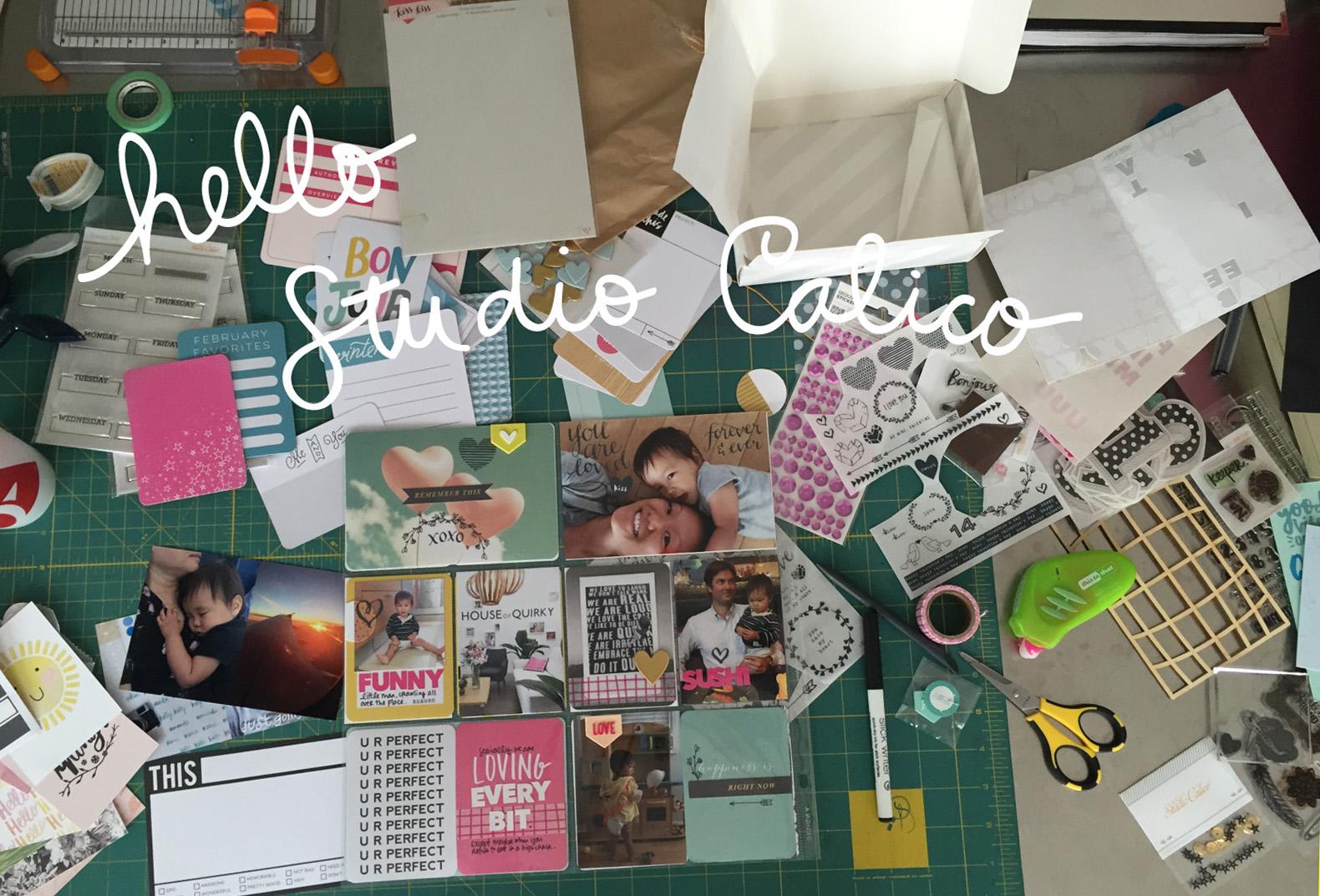 Amy Tangerine's desk