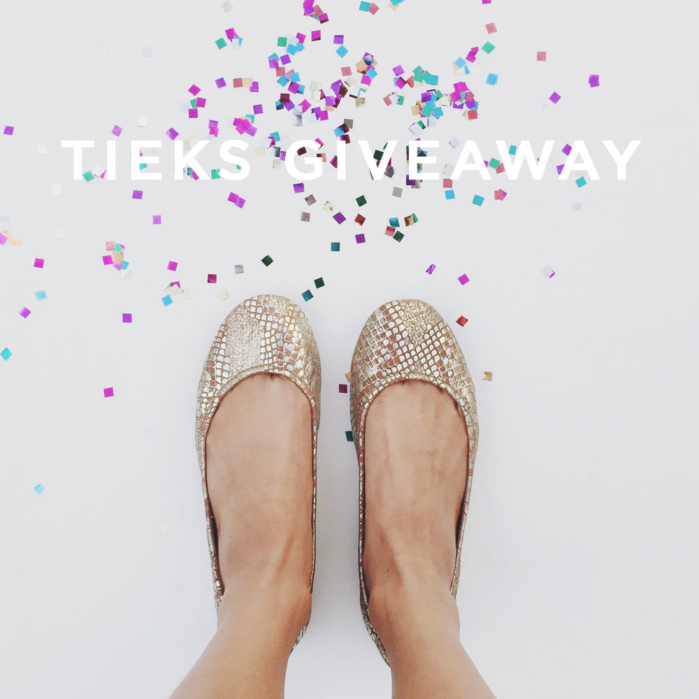 Tieks Giveaway from Amy Tangerine