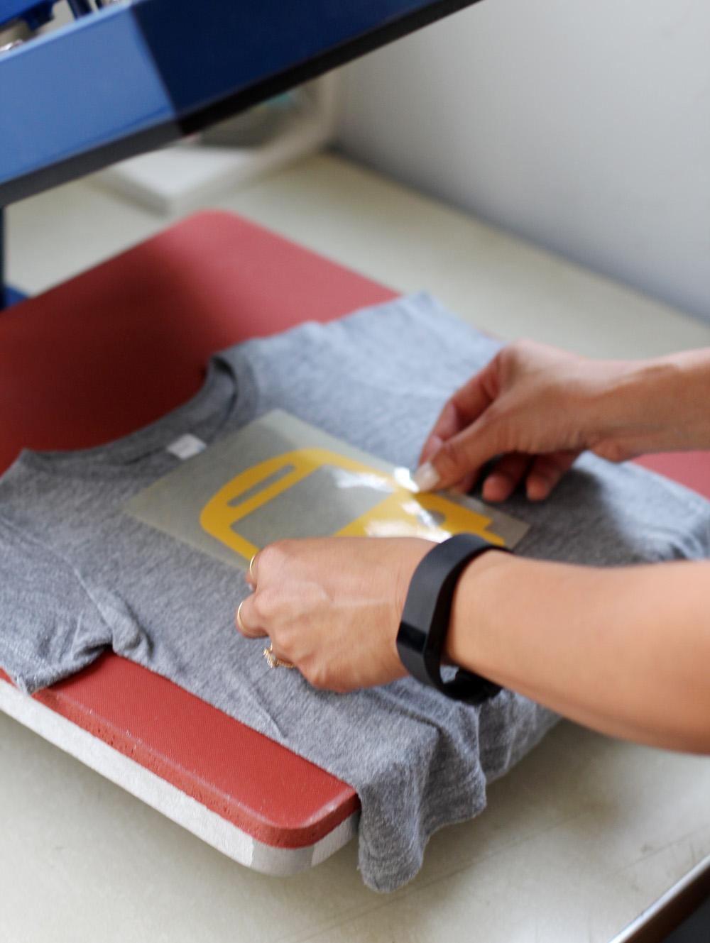 DIY Bus T-Shirt | Amy Tangerine