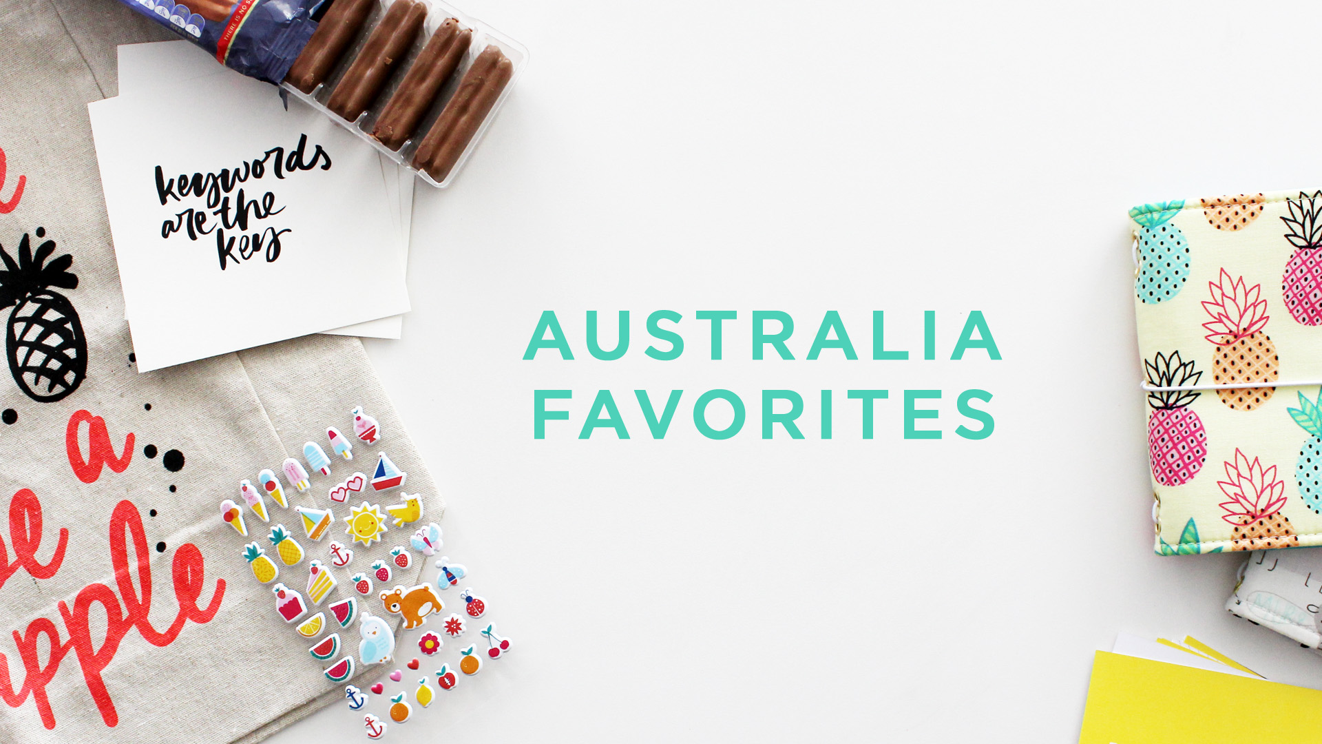 Amy Tangerine's Favorite Things from Australia